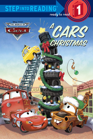 Step Into Reading A Cars Christmas Disney Pixar Cars