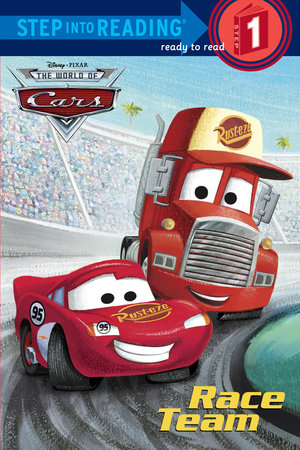 Step Into Reading Race Team DisneyPixar Cars