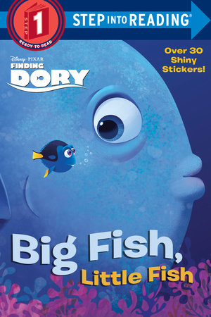 Step into reading big fish little fish disney pixar for Big fish book