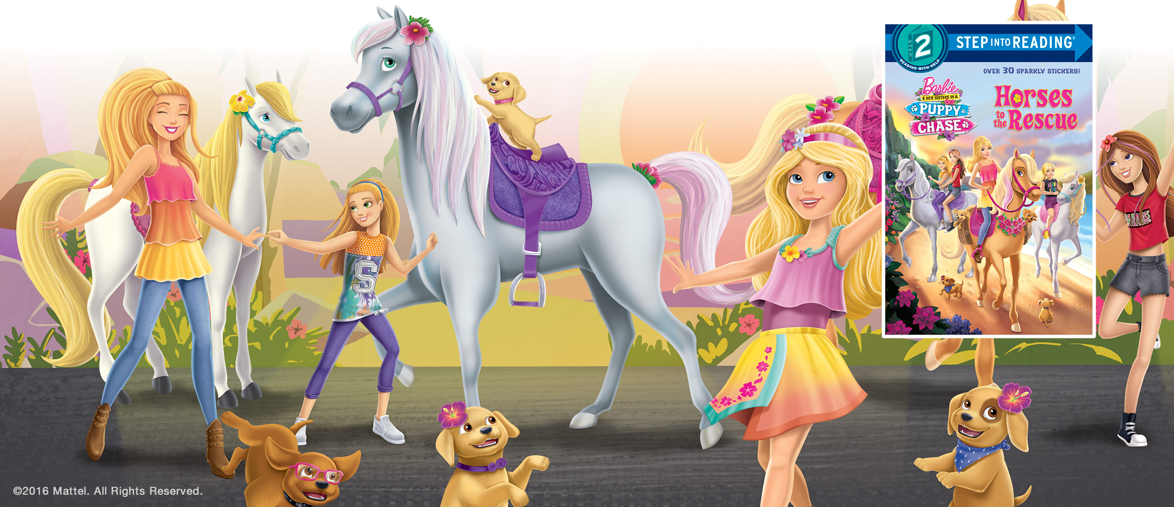 Barbie Puppy Chase Horses to the Rescue